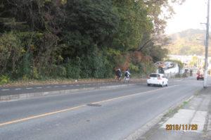 広島県広島市佐伯区内の国道