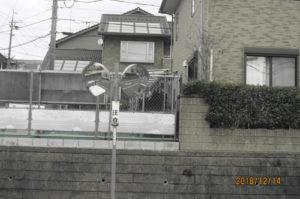 広島県広島市佐伯区内のカーブミラー