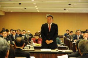 広島市基本構想基本計画特別委員会母谷たつのり発表